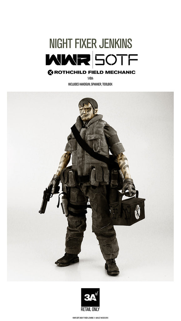 Night Fixer Jenkins Mechanic WWR SOTF 1/6 Scale figure ThreeA