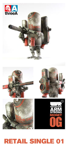 Monet OG Armstrong Zero-One WWRp ThreeA 3A