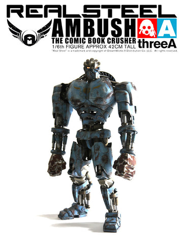 Real Steel Ambush One Sixth Comic Book Crusher
