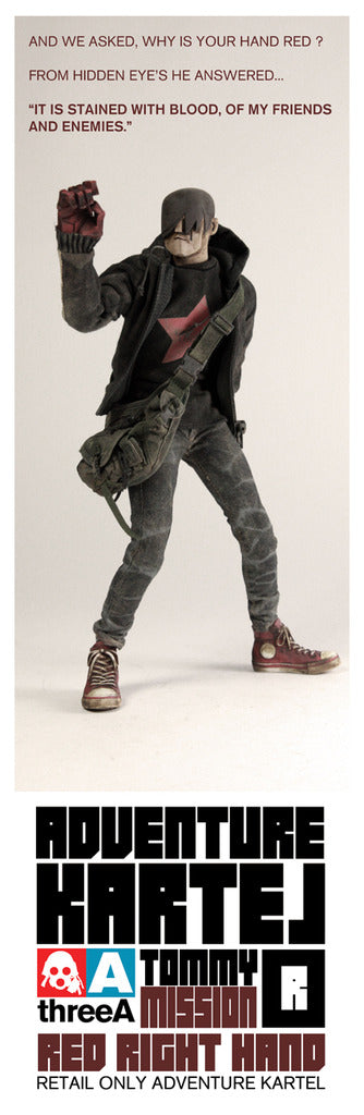 Tommy Mission Red Right Hand ThreeA 3A