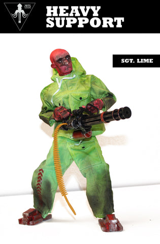 Sgt Lime Heavy Support 1/6 Scale from PRTSNKNWN