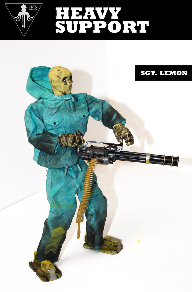 Sgt Lemon Heavy Support 1/6 Scale from PRTSNKNWN