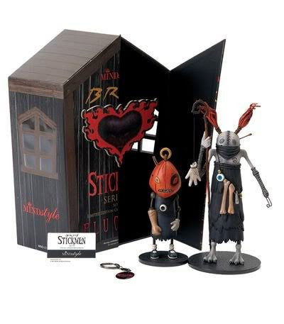 Brom's Stickmen-Series 1-Set B (Guru and Pumpkin) by Mindstyle
