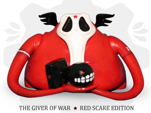 Andrew Bell The Giver of War: Red Scare Edition