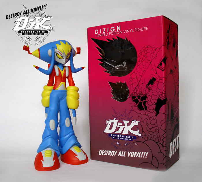 "Dizign ""Ultra"" Colorway by Erick Scarecrow Vinyl Art Toy"