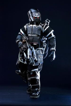 Helghast Hazmat Trooper 1/6 KillZone figure ThreeA