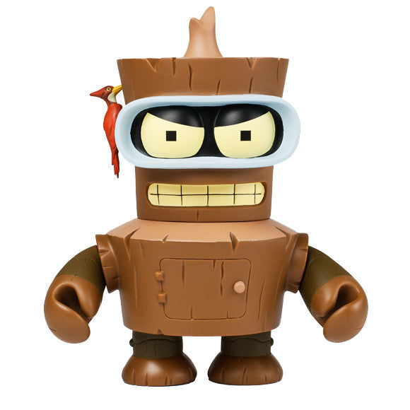 Wooden Bender 6 inch vinyl figure Futurama and Kidrobot