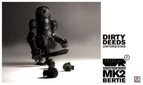 World War Robot WWRP MK2 Dirty Deeds Bertie by Ashley Wood and ThreeA Vinyl Toys