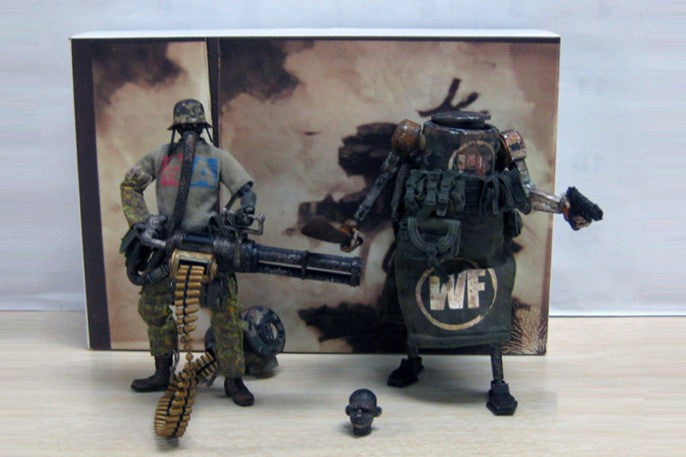 Fucked Up Jungle 2 Pack  WWRp World War Robot from ThreeA 1/12th