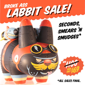 Yankee Pig Dog Labbit 7-Inch Stealth Warfare Edition Kronk Kozik