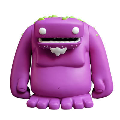 Zog by David Lanham x Strangekiss 7 Inch Vinyl Toy