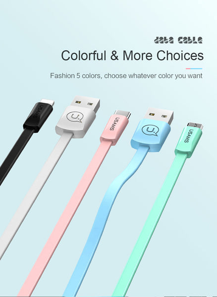 CABLES Cables colorés pour Iphone/ Samsung/ Xiaomi