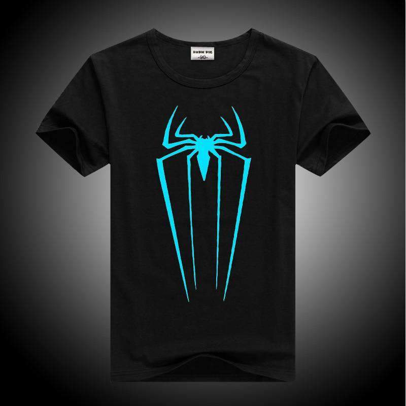3D Glow in the Dark Superheroes T-Shirts for Boys and Girls SHAPE meets COLOR