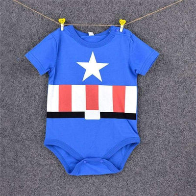 Awesome Cartoon Baby Rompers - Several Designs SHAPE meets COLOR Captain 3M