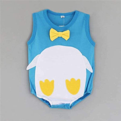 Awesome Cartoon Baby Rompers - Several Designs SHAPE meets COLOR penguin 3M