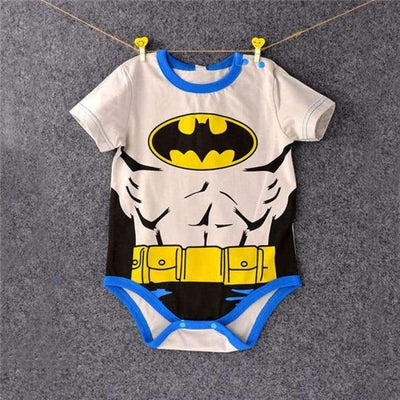 Awesome Cartoon Baby Rompers - Several Designs SHAPE meets COLOR Short batman 2 3M