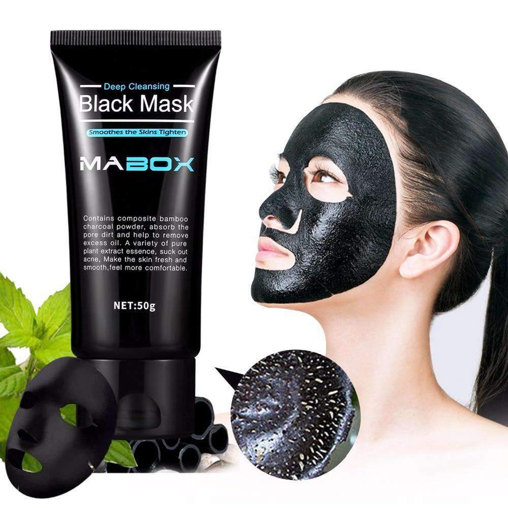 Black Charcoal Peel-Off Facial Mask SHAPE meets COLOR