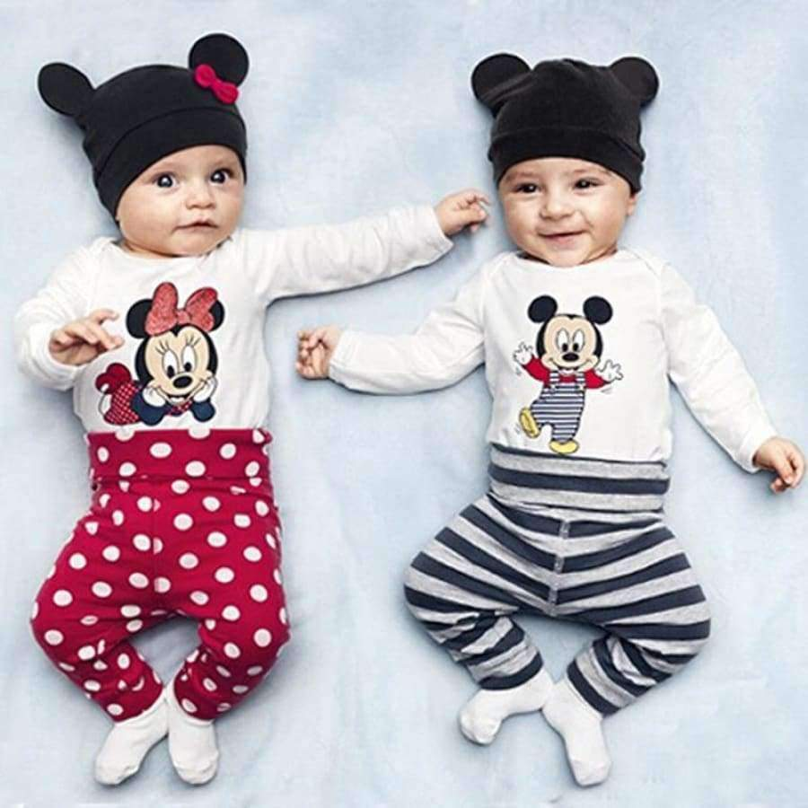 Cartoon Long Sleeve Cotton Baby Clothes SHAPE meets COLOR