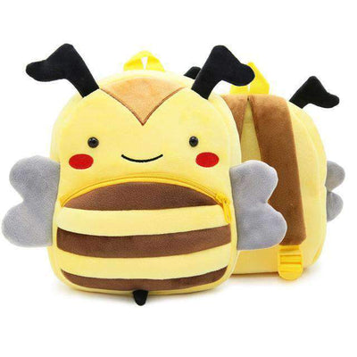 Children School Backpack Cartoon Rainbow Unicorn Design and More SHAPE meets COLOR Bee