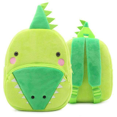 Children School Backpack Cartoon Rainbow Unicorn Design and More SHAPE meets COLOR Crocodile