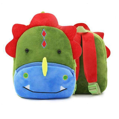 Children School Backpack Cartoon Rainbow Unicorn Design and More SHAPE meets COLOR Dinosaur