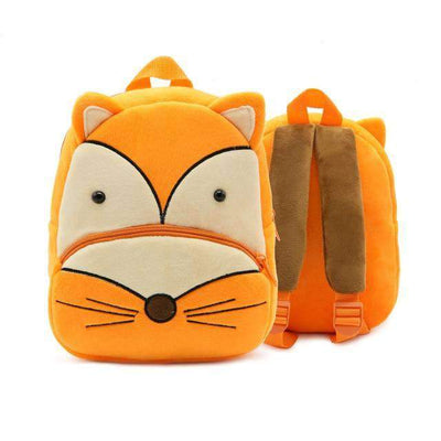 Children School Backpack Cartoon Rainbow Unicorn Design and More SHAPE meets COLOR Fox