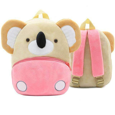 Children School Backpack Cartoon Rainbow Unicorn Design and More SHAPE meets COLOR Koala