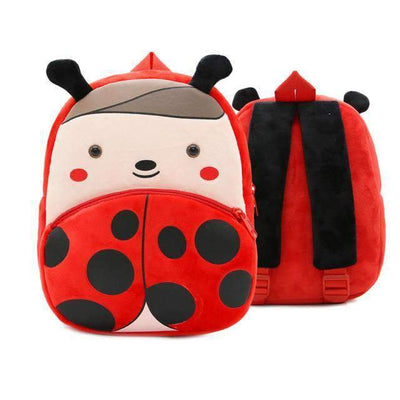 Children School Backpack Cartoon Rainbow Unicorn Design and More SHAPE meets COLOR Ladybug