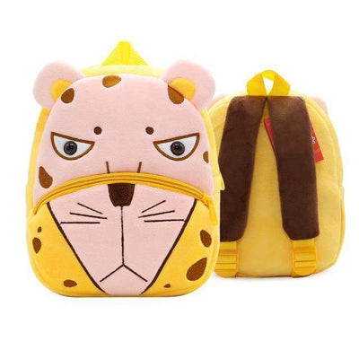 Children School Backpack Cartoon Rainbow Unicorn Design and More SHAPE meets COLOR Leopard