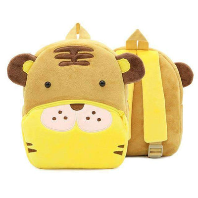 Children School Backpack Cartoon Rainbow Unicorn Design and More SHAPE meets COLOR Tiger