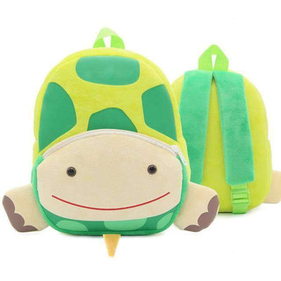Children School Backpack Cartoon Rainbow Unicorn Design and More SHAPE meets COLOR Tortoise
