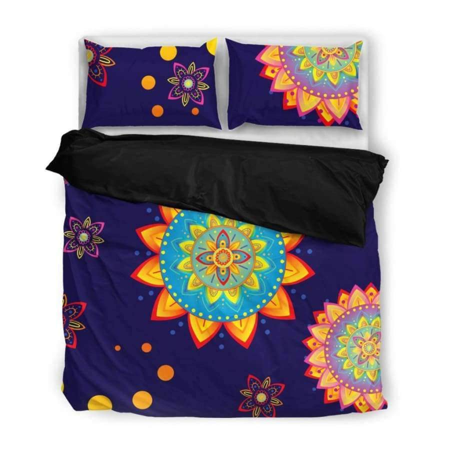 Colorful Mandala Bedding Set Bedding Set SHAPE meets COLOR