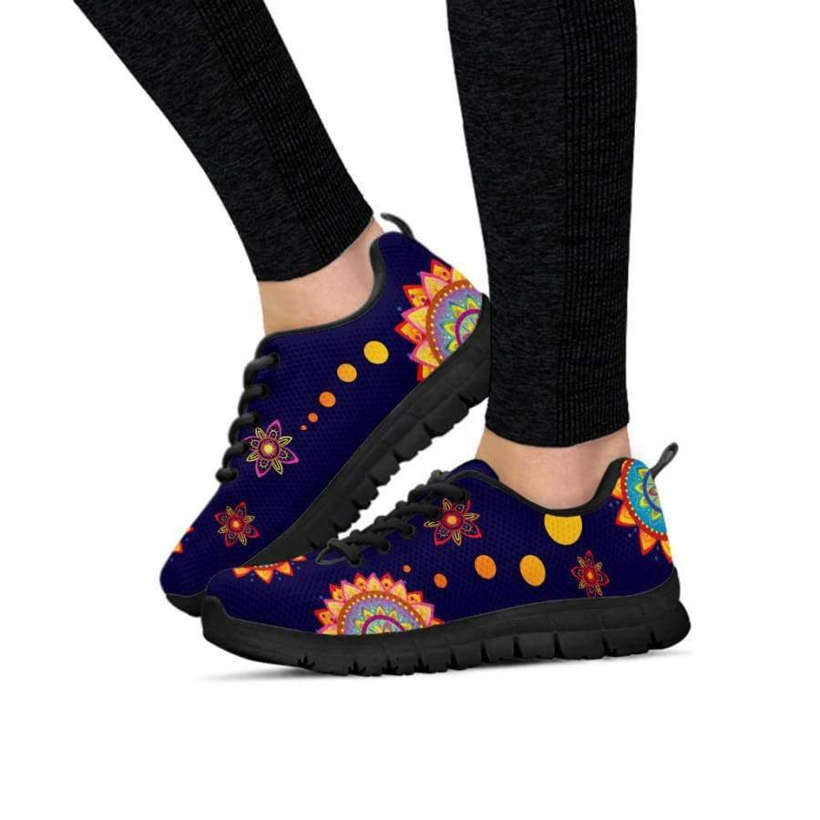 Colorful Mandala Women Sneakers Sneakers SHAPE meets COLOR