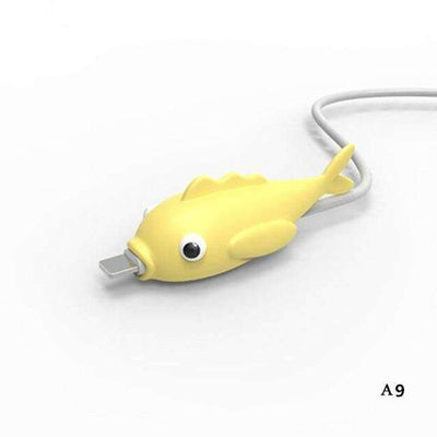 Dinosaurio Cable Protector for iPhone Charger Cable SHAPE meets COLOR I