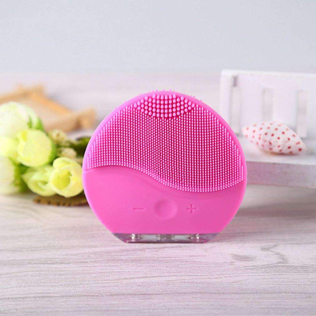 Electric Face Washing Brush with Vibration SHAPE meets COLOR