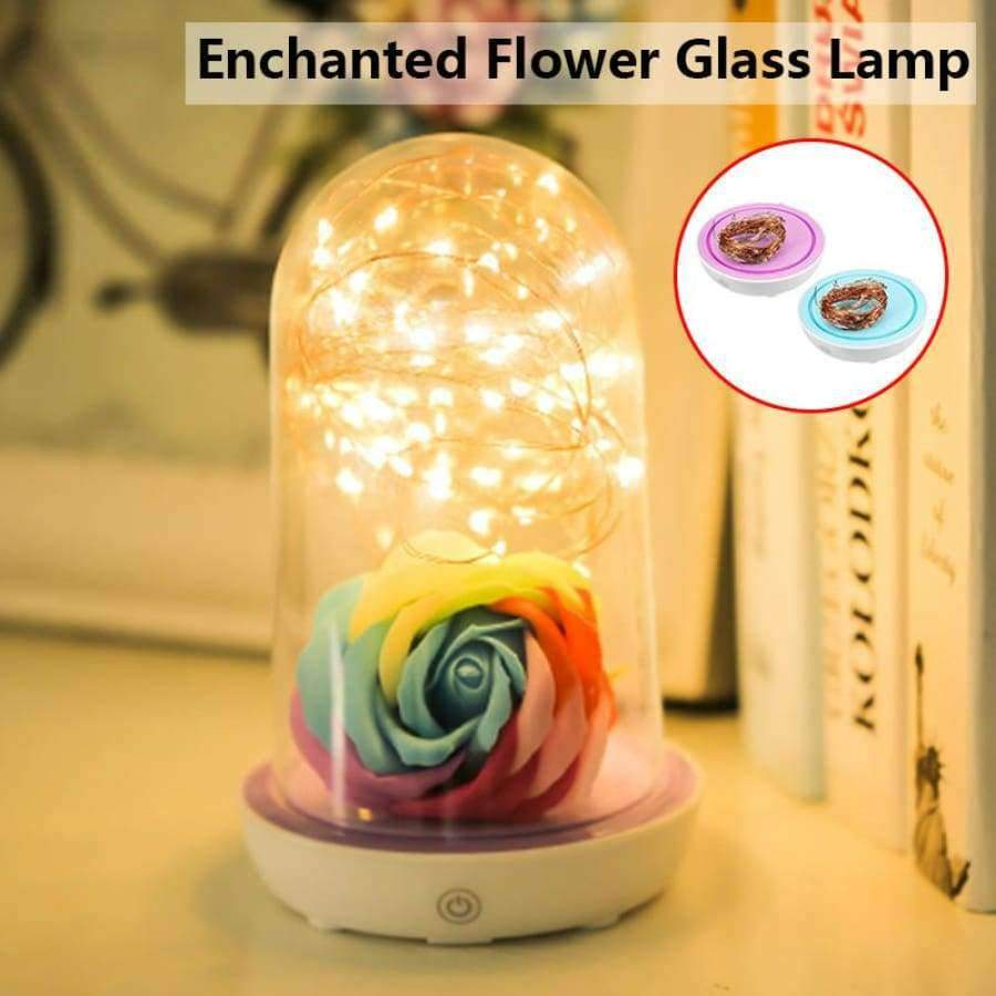 Enchanted Rose Lamps For Your Home SHAPE meets COLOR
