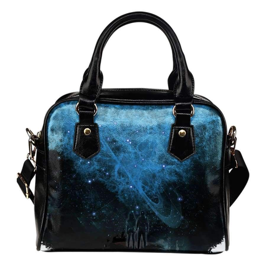 Galactic Nebula Shoulder Handbag Shoulder Handbag SHAPE meets COLOR