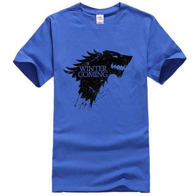 Game of Thrones Men T-Shirt SHAPE meets COLOR Blue S