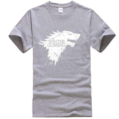 Game of Thrones Men T-Shirt SHAPE meets COLOR Gray 1 S