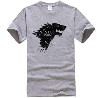 Game of Thrones Men T-Shirt SHAPE meets COLOR Gray S