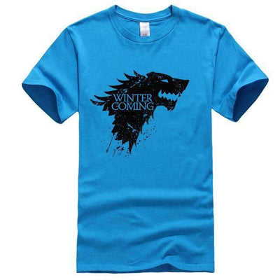 Game of Thrones Men T-Shirt SHAPE meets COLOR Linght blue 1 S