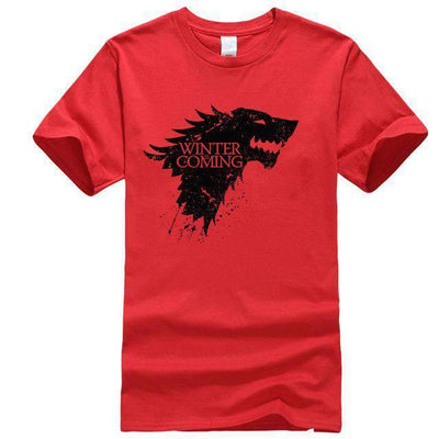 Game of Thrones Men T-Shirt SHAPE meets COLOR Red S