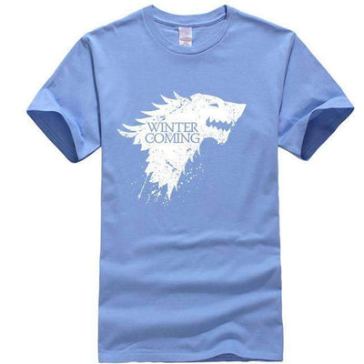 Game of Thrones Men T-Shirt SHAPE meets COLOR Sky blue S