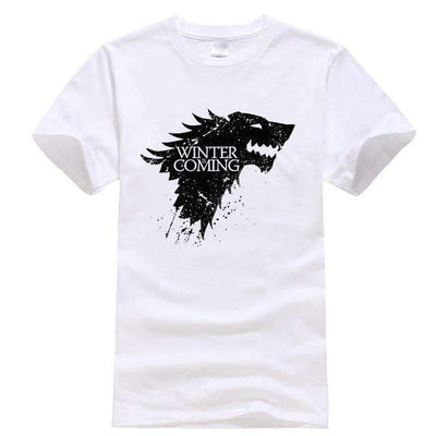 Game of Thrones Men T-Shirt SHAPE meets COLOR White S