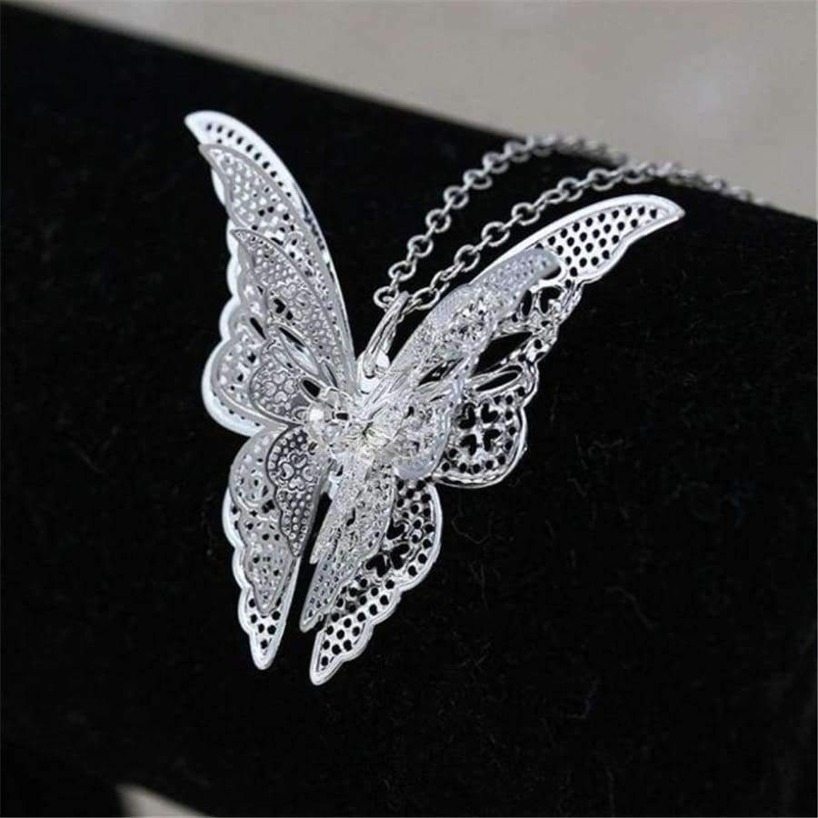Gorgeous Butterfly Necklace - Women Fashion Choker SHAPE meets COLOR