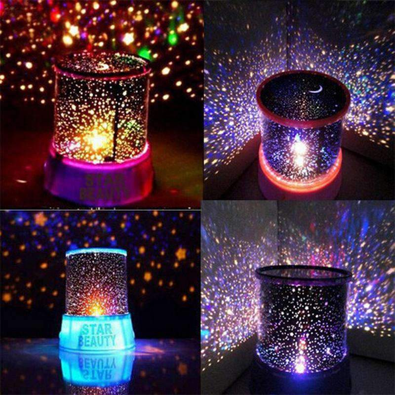 LED Night Light Table For Bedroom Sky Star Projector SHAPE meets COLOR