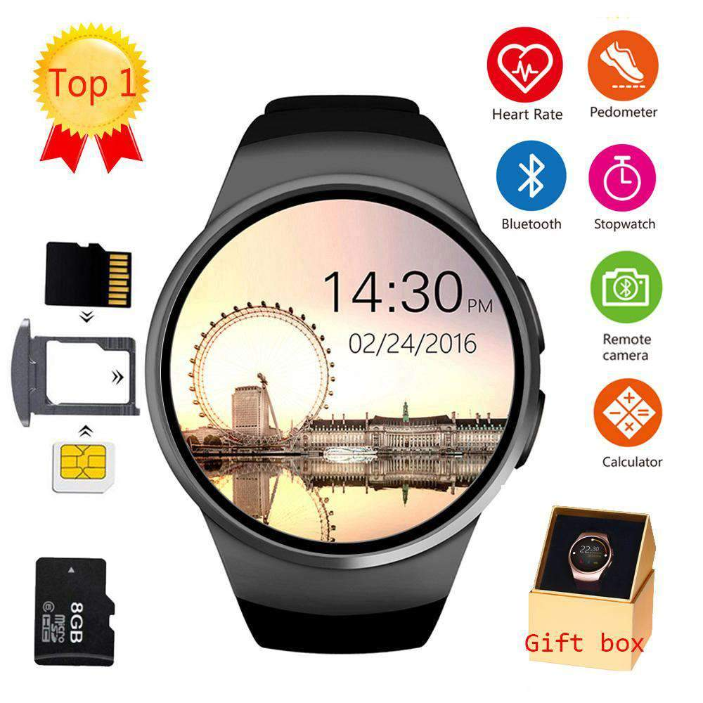 LEMFO KW18 Bluetooth Smart Watch for Apple, Gear S2, Huawei and Xiaomi SHAPE meets COLOR