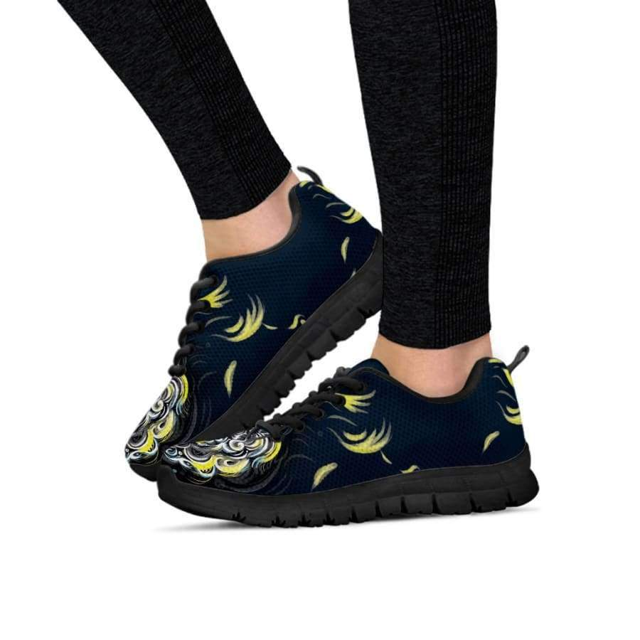 Mystic Owl Yellow Women's Sneakers Sneakers SHAPE meets COLOR
