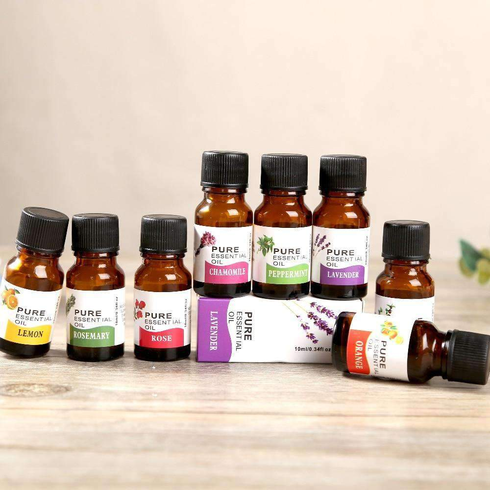 Natural Essential Oil Skin Care, Aromatherapy, and Diffusers (10 ml) SHAPE meets COLOR