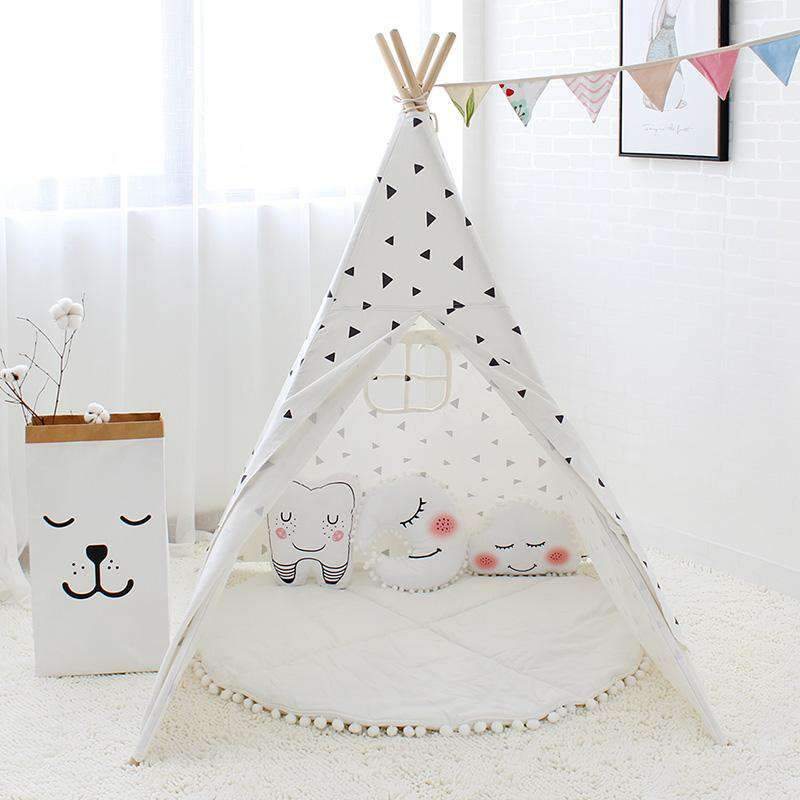 Nodic Children Indian Tent for Children SHAPE meets COLOR